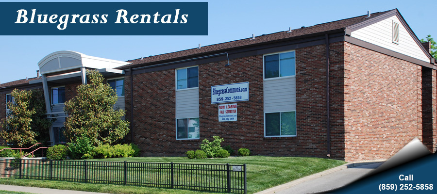 Bluegrass Rental Properties - University of Kentukcy Campus Housing and Single Family Homes - For Rent