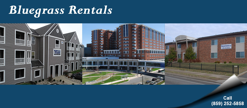 Bluegrass Rental Properties - University of Kenutcky Campus Housing and Single Family Homes - For Rent